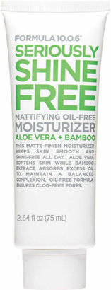 Formula 10.0.6 Seriously Shine Free Mattifying Oil Free Moisturizer $6.99 thestylecure.com