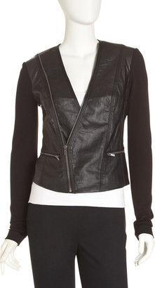 BCBGMAXAZRIA Own Faux Leather Jacket