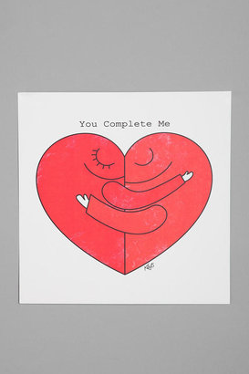 Urban Outfitters Dale Keys for Society6 You Complete Me Print