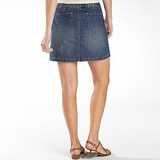JCPenney St. John's Bay® Skort, Womens Denim