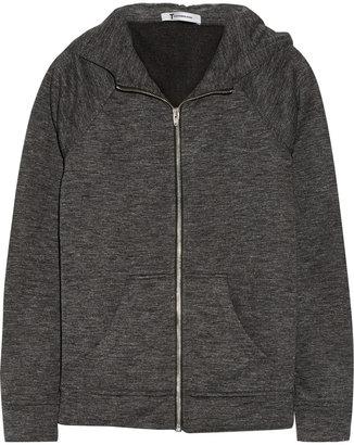 Alexander Wang Cotton-blend hooded top