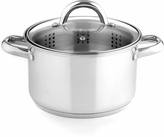 Tools of the Trade Stainless Steel 4 Qt. Soup Pot with Steamer Insert