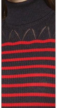 Jean Paul Gaultier Long Sleeve Turtleneck Sweater