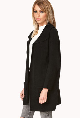 Forever 21 Gone Cozy Sweater Coat