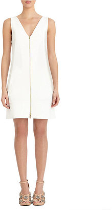 Rachel Roy White Zip Front Dress