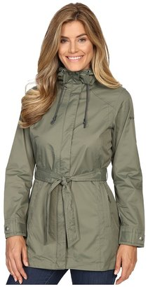 Columbia Pardon My TrenchTM Rain Jacket $100 thestylecure.com