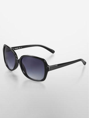 Calvin Klein Rectangle Frame Shape Fashion Sunglasses