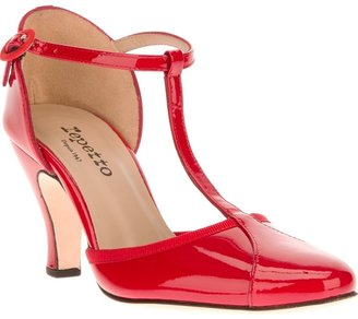 Repetto t-bar strap sandal