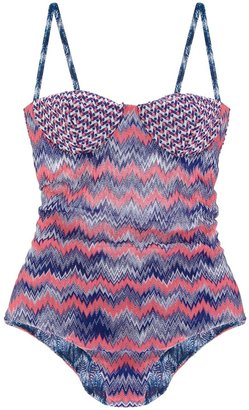 Missoni reversible swimming suit