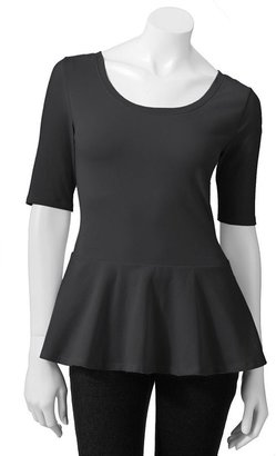 So® peplum top - juniors