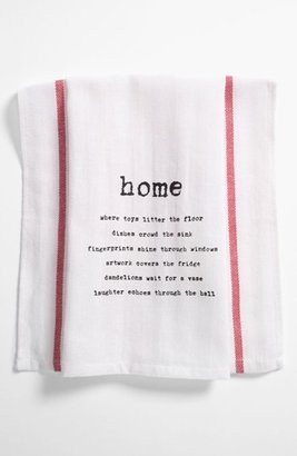 Second Nature By Hand 'Home' Towel (2 for $16)