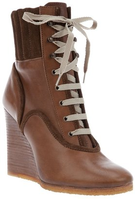 Chloé Wedge boot