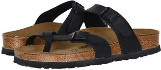 Birkenstock Mayari (Blue Oiled Leather) Women's Sandals