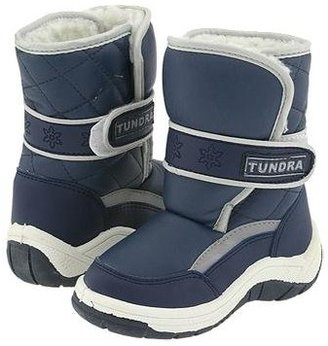 Tundra Boots Kids Snow Kids (Toddler/Little Kid/Big Kid) (Navy) Boys Shoes