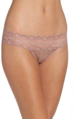 Women's B.tempt'D By Wacoal 'Lace Kiss' Thong