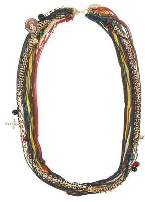 Alexis Mabille Multicolor Chain Necklace