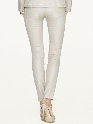 Ralph Lauren Black Label Denim 105 Metallic Skinny Jean