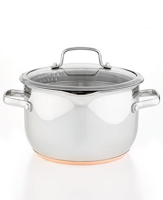 Martha Stewart Collection Copper Accent 5 Qt. Covered Casserole