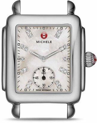 MICHELE Deco 16 Diamond Watch Head, 29 x 31mm $695 thestylecure.com