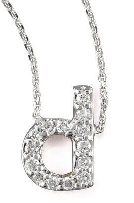 KC Designs Diamond Letter Necklace, A