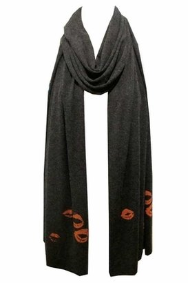 Wildfox Couture Lipstick Traces Scarf in Clean Black