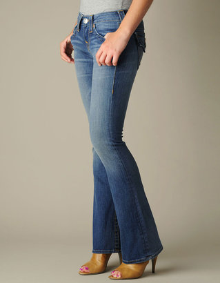 True Religion WOMENS PETITE BECKY JEANS - (Short Fuse)