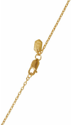 Maria Black Spear gold-plated necklace