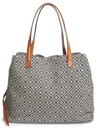 Sole Society 'Oversize Millie' Tote - Black $64.95 thestylecure.com