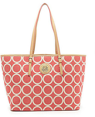 Kate Landry My Everyday Circle-Print Tote Bag