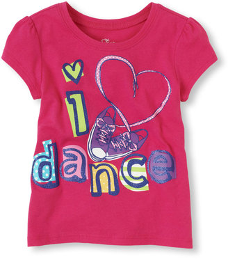 Children's Place Love dance graphic tee