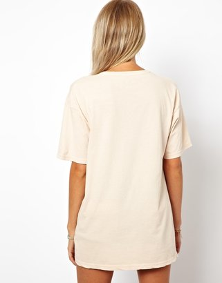 Asos T-Shirt with Holes and Star Print