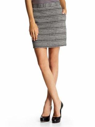 BB Dakota Brock Tweed Skirt