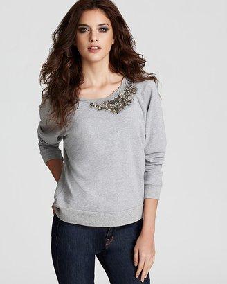 """Ella Moss Kinga"""" Embellished Sweatshirt"""