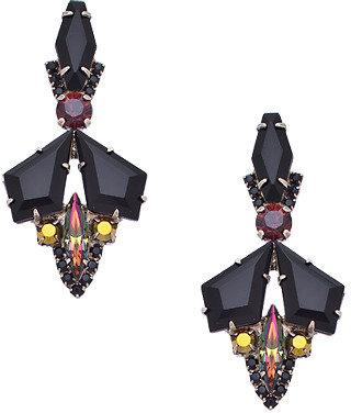 Sorrelli Onyx Mache Drop Earrings