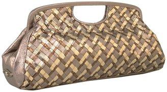 Elliott Lucca Intreccio Frame Clutch (Metallic Multi) - Bags and Luggage