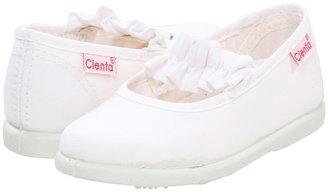 Cienta 2000005 (Infant/Toddler) (White) - Footwear