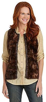 Reba Faux-Fur Vest