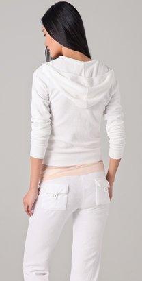 Juicy Couture Long Sleeve Terry Hoodie