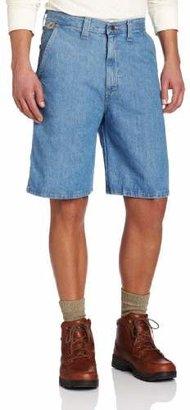 Wrangler Men's Rugged Wear Flat Front Angler Short