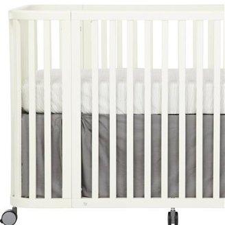 Argington Organic Crib Skirt- Grey