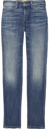 Current/Elliott Skinny low-rise jeans
