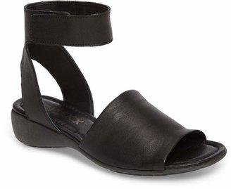 The Flexx 'Beglad' Leather Ankle Strap Sandal