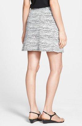 Halogen Faux Wrap Textured Knit Skirt (Regular & Petite)