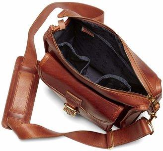 Brooks Brothers J.W. Hulme Leather Correspondent Bag