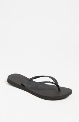 Women's Havaianas 'Slim Crystal Glamour' Flip Flop $36 thestylecure.com