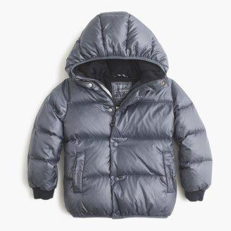 J.Crew Boys' marshmallow puffer jacket