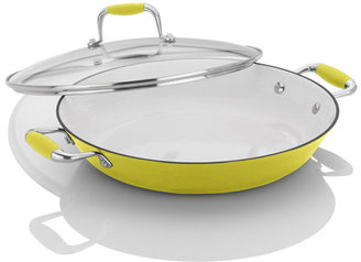 Fagor Michelle B. by Cast Iron Lite Chef's Pan with Lid, 12 inch