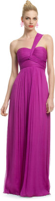 Carlos Miele Magenta Orchid Gown