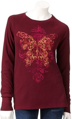 Sonoma life + style ® scoll thermal tee