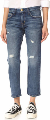 Current/Elliott The Boyfriend Jeans $206 thestylecure.com